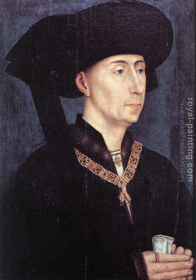 Rogier Van Der Weyden : Portrait of Philip the Good